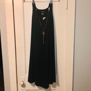 ASHLEY STEWART DRESS WITH ATTACHED NECKLACE